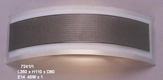 Aplica de sticla pentru iluminat casnic tip ventilatie